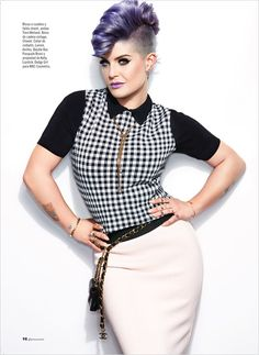 Kelly Osbourne for Glamour Mexico by Frankie Batista