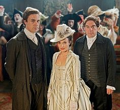 I adore Lady Sarah's costumes in Garrow's Law