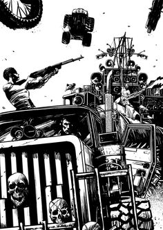 Nathan Ramirez - Comics and Artwork: MAD MAX: FURY ROAD | Fan Art