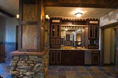 stone basement wine bar | Stone, Tile, Reclaimed Wet bar | Home-Bar/Wine Cellar