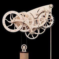 Wooden Mechanical Clock Kit