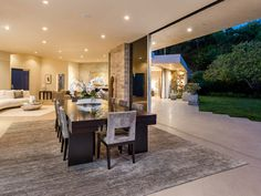 1161 Shadow Hill Way, beverly Hills Property Listing: MLS® Mansions Homes, Luxury Mansions, Linear Fireplace, Beverly Hills Hotel, Expensive Houses, Celebrity Houses, Stunning View, Open Concept, Dream Homes