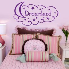 Dreamland Wall Decal (31in x 21in )