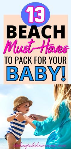Packing list for baby's first beach vacation! Are you taking your baby or toddler to the beach for the first time? Be sure to pack these 13 beach essentials to keep your baby busy and make your vacation enjoyable! Trust me, after having 4 kids, I never went to the beach without these must haves for my babies and you'll want to get them too! #packinglistforbeach #beachtrip #babies #beachpackinglist #babysfirstbeachtrip #babybeachhacks Baby Care Tips, Baby Tips, Baby Hacks, How To Breastfeed Newborns, Screen Time For Kids, Girl Diaper Bag, Baby Registry Items, Beach Essentials, Baby Supplies