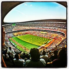 Founded in 1325 by the Mexica, there is much to do and see in Mexico City. A trip to Estadio Azteca is a must. Visiting Mexico City, Visit Mexico, League Gaming, March 4, Champions League, Carrera, Four Square, Places To Go, America