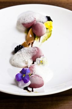 Shades of purple #desserts #chef