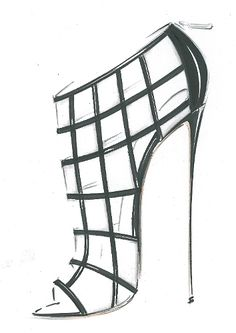 41 New ideas for fashion sketchbook shoes sketch books Shoe Sketches, Jewellery Sketches, Fashion Design Drawings, Fashion Sketches, Fashion Illustration Shoes, High Heel Stiefel, Outline Drawings, Fashion Sketchbook, Shoe Art