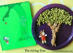 The Giving Tree: how to make a snack inspired by the story and talk about the message of the book with your child.