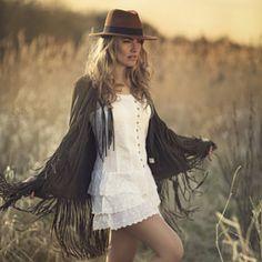 Sacha van Manen / 500px dreamy fashion sunset Melissa