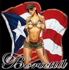 Boricua Rico Puerto Rican   All Graphics » hot puerto rican flag