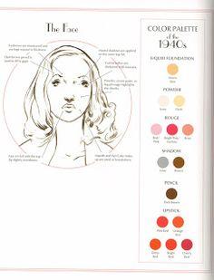 1940s Makeup Palette