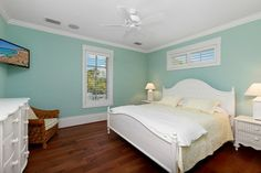 West Indies House Design - tropical - bedroom - miami - Weber Design Group, Inc.