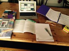 Perks of all my housemates being out? I get to use the whole dining table to revise on!