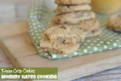 """I have been on a cookie making spree lately, it's not good at all. I'm a cookie fanatic, I just can't resist. I landed on this recipe for Pecan Crisp Cookies in one of my aunt's old cookbooks. This recipe came from the book """"Prize Winning Recipes of Dexter"""" by Dorris Turlington. Doris knew what …"""