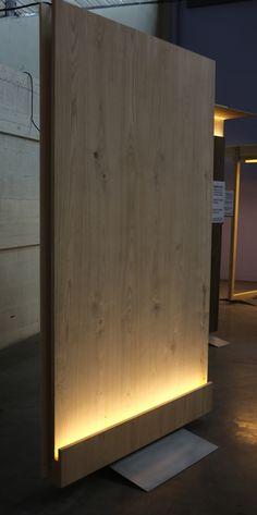 Bois et lumière design Exposition salon maison bois d'Angers LED / Daney Factory