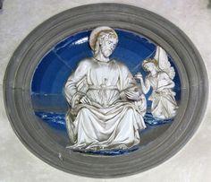 File:Cappella pazzi, apostoli di luca della robbia, san matteo.JPG