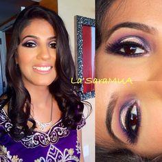 One of my #brides from May #lategram #tbt I enjoyed doing her evening eye look! ❤️ #mac #iloveigmuas #ilovemakeup  #makeupbyme  #makeup #ilovemaciggirls #makeupartist #artist #motd #lotd #mua #beauty #makeupaddict #beatthatface  #makeuphoneys #makeupgeek #igmakeup #instamakeup #makeupdolls #beautyguru #makeupmobb #glam #smoky  #instaglam #makeuplover #indianwedding