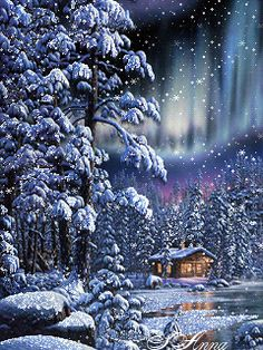 You are in the right place about diy Here we offer you the most beautiful pictures about the diy - Winter Christmas Scenes, Merry Christmas Gif, Christmas Scenery, Winter Scenery, Winter Fun, Christmas Pictures, Christmas Art, Beautiful Christmas, White Christmas