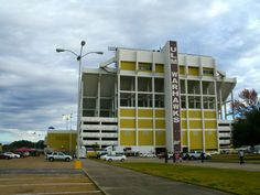 Postcard of the Day: Malone Stadium (ULM Warhawks), Monroe, La.