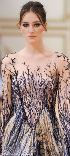 #Zuhair Murad Haute Couture Fall/Winter 2013 #Details