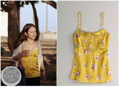 Shop Your Tv: The Fosters 1x1 Mariana's (Cierra Ramirez) American Eagle Cami #TheFosters