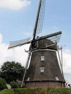 Flour mill Anermolen, Ane, the Netherlands
