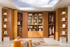 50 Brilliant Boys and Girls Room Designs - Unoxtutti from Giessegi