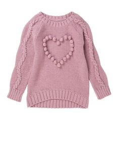 Knitted Heart Jersey
