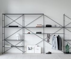 "henrycaird: ""R. Modules shelving by Mikal Harrsen & Adam Hall for MA/U Studio. Via iainclaridge. Interior Design Pictures, Interior Design Books, Interior Design Software, Interior Design Living Room, Furniture Design, Furniture Inspiration, Interior Inspiration, Module Design, Shelving Systems"