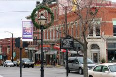 Downtown Mansfield Ohio