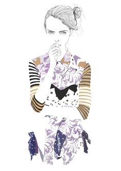 Modeconnect.com - Tracy Turnbull fashion illustration