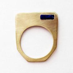Talisman Square Ring