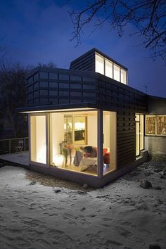 Very Small Houses | Small House Into Residence by LASC studio