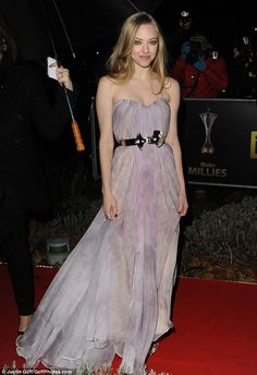 Just stunning: Amanda Seyfried looks gorgeous at the A Night Of Heroes: The Sun Millitary Awards 2012