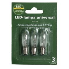 Reservlampa LED