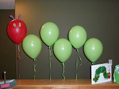 Very HUngry Caterpillar Party Good Ideas