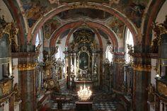 Interior of the Loreta Church, Prague. Must see!