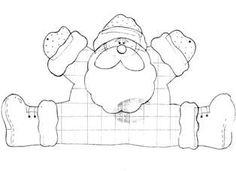 Patrones navideños ~ lodijoella Christmas Yard Art, Christmas Arts And Crafts, Christmas Mom, Christmas Colors, Handmade Christmas, Christmas Decorations, Diy Projects Handmade, Christmas Cards Drawing, Christmas Scrapbook Paper