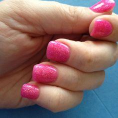 Solar powder over the whole nail. No-chip 'polish'!!!