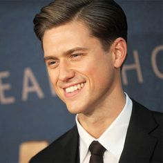 Aaron Tveit #Aaronjolras-ing it up at the Les Miz Premiere in NYC