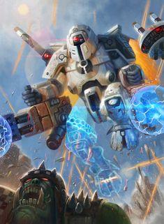 Commander Shadowsun 1 - Warhammer 40,000:Conquest by jubjubjedi on DeviantArt