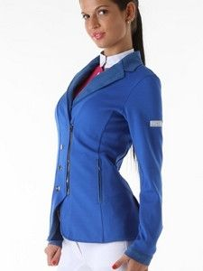 Animo Larissa Show Jacket - Bluette- Blue- Brand New  UK 10 IT 42