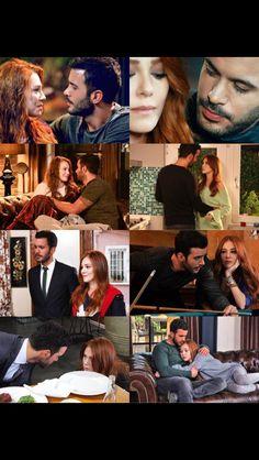 Movie Couples, Cute Couples, Elcin Sangu, Cute Couple Pictures, Turkish Actors, Barista, Tv Series, Films, Drama