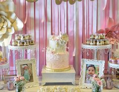 MeCupcake's Baptism / - Emilia's Pink Baptism at Catch My Party
