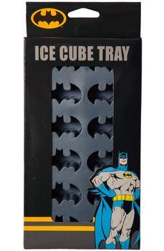 Batman Ice Cube Tray: Superheroes Batman Ice Cube Trays