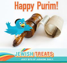 The Four Mitzvot of Purim Book Of Esther, Happy Purim, The Four, Study, Treats, Holidays, Bird, Reading, Sweet Like Candy
