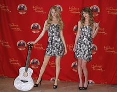 NEW YORK - OCTOBER 27: Musician Taylor Swift unveils her wax figure at Madame Tussauds on October 27, 2010 in New York City. Description from mix1051.cbslocal.com. I searched for this on bing.com/images