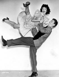 Doing the jive … a still from Mister Big (1945). Photograph: Universal
