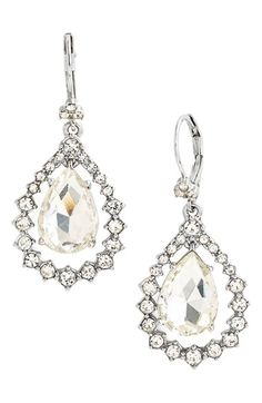 Marchesa Open Drop Earrings available at #Nordstrom