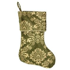 Check out this item at One Kings Lane! Mehindi Stocking, Gold